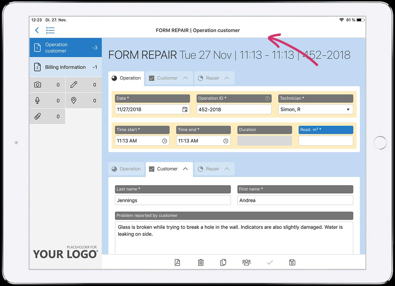 HybridForms: Online mode